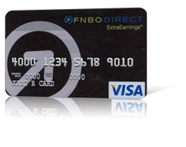 ExtraEarnings<sup>&#174;</sup> Visa<sup>&#174;</sup> Card